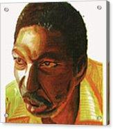Idrissa Ouedraogo Acrylic Print