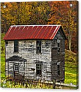 If These Walls Could Talk Painted Acrylic Print