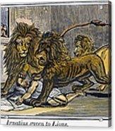 Ignatius Of Antioch (c35-110) Acrylic Print