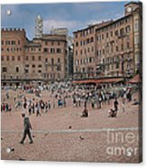 Il Campo Siena Acrylic Print