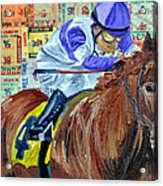 I'll Have Another Wins Acrylic Print