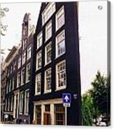 Illusion Of A Two Dimensional Building In Amsterdam Acrylic Print