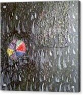 Illusion Of Black Rain Acrylic Print