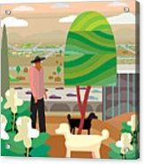 Illustration And Painting In Scottsdale Acrylic Print