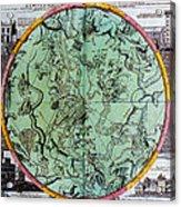 Illustration From Atlas Coelestis Acrylic Print