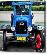 I'm Cute - 1922 Model T Ford Acrylic Print