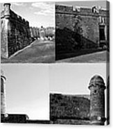 Images Of The Old Castillo Acrylic Print