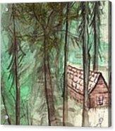 Imaginary Cabin Acrylic Print