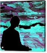Imaginary Landscape - Fluorescence Serigraphy Acrylic Print by Arte Venezia