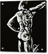 Imaginative Figure Drawing Acrylic Print