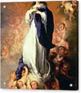 Immaculate Conception Of The Escorial Acrylic Print