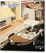 Immobilier Acrylic Print by Carina Mascarelli