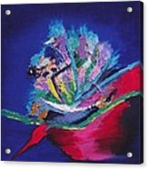 Impression Of Flowers Acrylic Print
