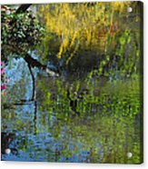 Impressions Of Spring Acrylic Print