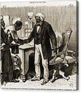In 1877 Frederick Douglass 1818�95 Acrylic Print by Everett
