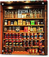 In A General Store Acrylic Print