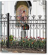 In Front Of Church Acrylic Print