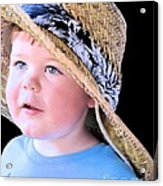 In Grandpa's Hat Acrylic Print