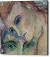 In His Eyes... Acrylic Print