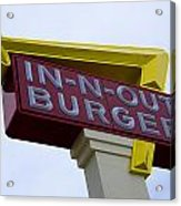 In-n-out IIi Acrylic Print