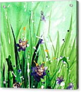 In The Garden V Acrylic Print