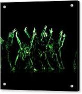 In The Green Light Acrylic Print