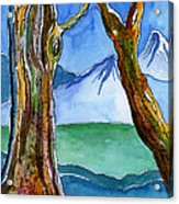 In The Style Of Tolkien Acrylic Print