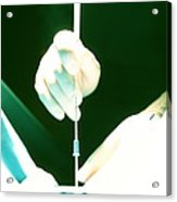 In Vitro Fertilization Acrylic Print