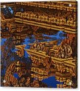 Inca Gold In The Galaxy Pawnshop. Acrylic Print