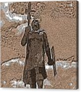 Inca Warrior Acrylic Print