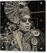 India Day Parade Nyc 8 19 12 Acrylic Print