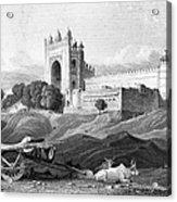 India: Fatehpur Sikri, C1860 Acrylic Print