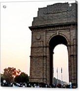India Gate Milieu Acrylic Print