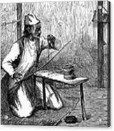 India: Pearl Borer, 1876 Acrylic Print