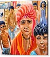 India Rising -- Prince Of Thieves Acrylic Print