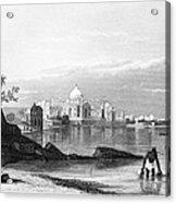 India: Taj Mahal, C1860 Acrylic Print