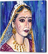 Indian Bride  Acrylic Print