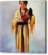 Indian Doll Acrylic Print