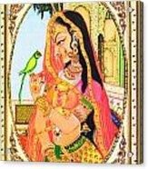 Indian Empress Acrylic Print