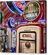 Indian Gasoline Acrylic Print