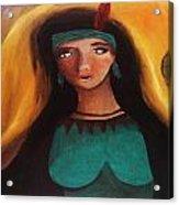 Indian Girlfriend Acrylic Print