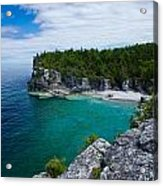 Indian Head Cove Acrylic Print