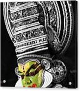 Indian Kathakali Dance Of Kerela 3 Acrylic Print