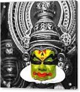 indian kathakali dance of Kerela Acrylic Print