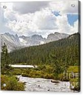 Indian Peaks Summer Day Acrylic Print