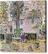 Indian Summer In Colonial Days Acrylic Print by Childe Hassam