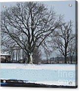 Indiana Winter Acrylic Print