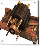 Induction Motor Acrylic Print