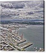 Industrial Harbor Acrylic Print