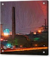 Industrial Lights Acrylic Print